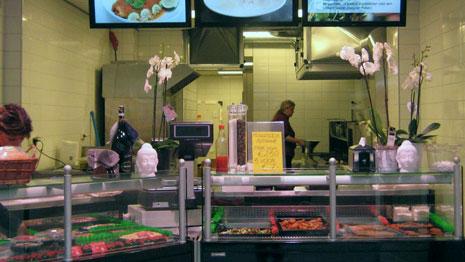 Vis- en broodjeswinkel