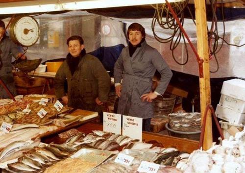 De geschiedenis van de viskraam